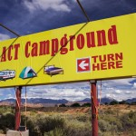 With views of the redrock cliffs and La Sal Mountains, ACT Campground is the newest in Moab.