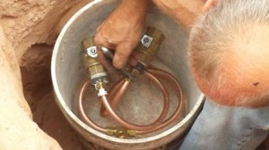 copper oil pipes