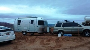airstream move to site